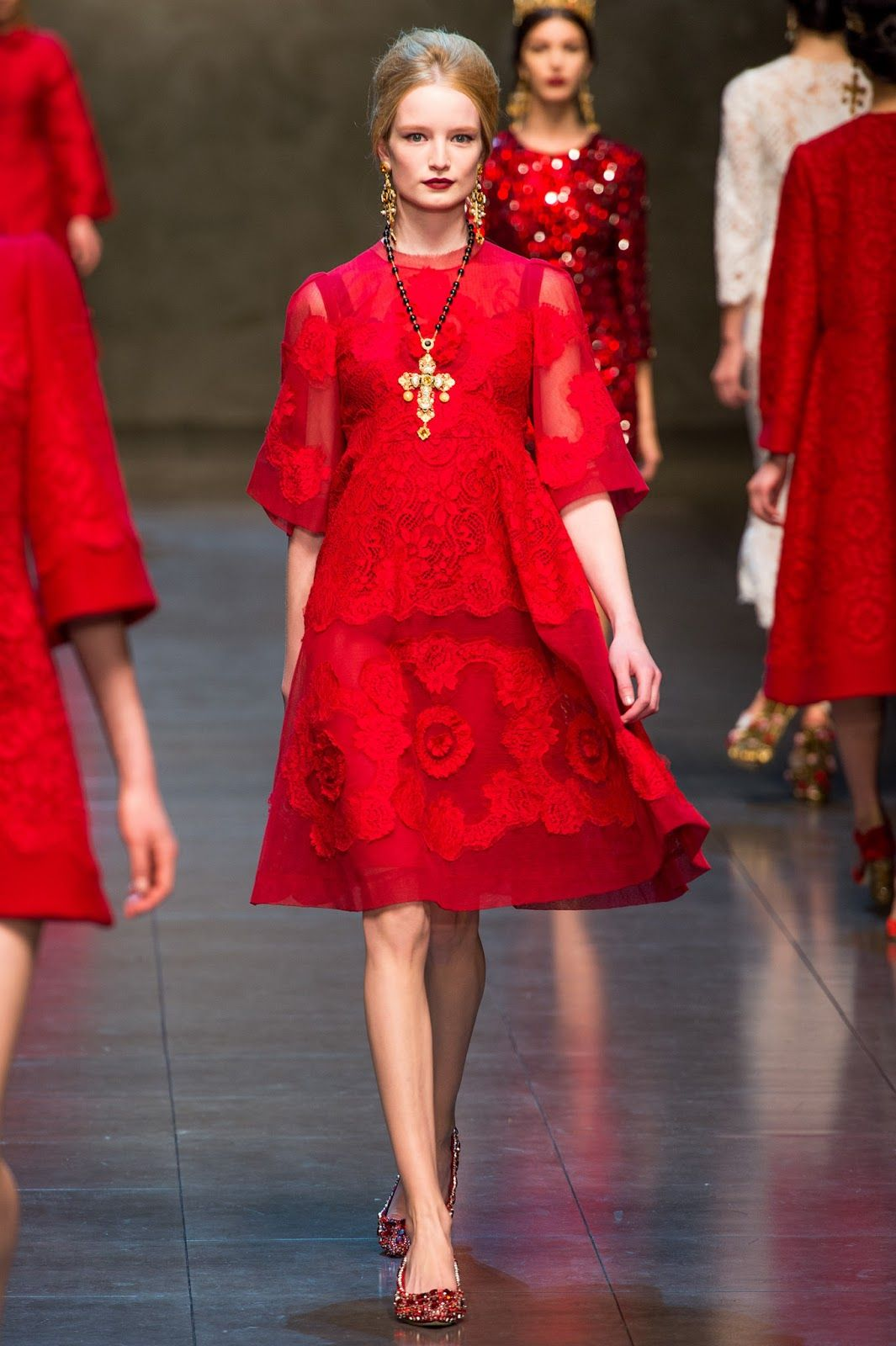 Dolce Amp Gabbana Fall Winter 2013 Collection Milan