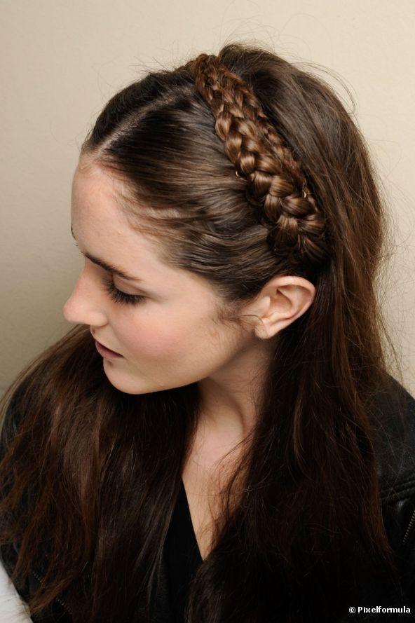 Braided Headband Hairstyle Tutorial Fab Fashion Fix