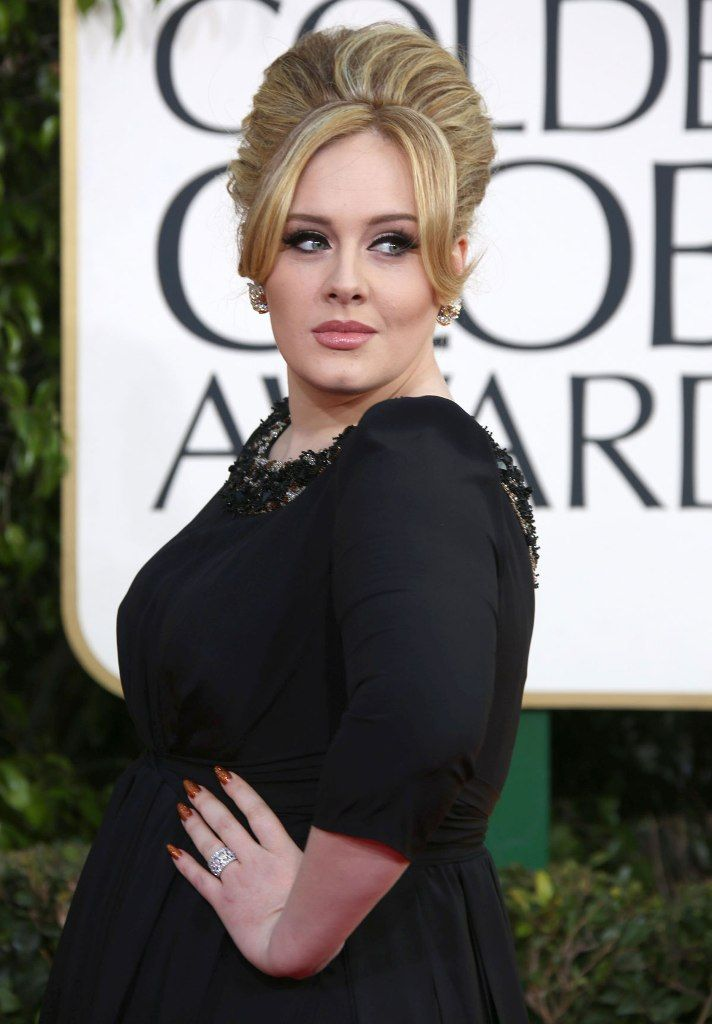ADELE at 70th Annual Golden Globe Awards in Beverly Hills