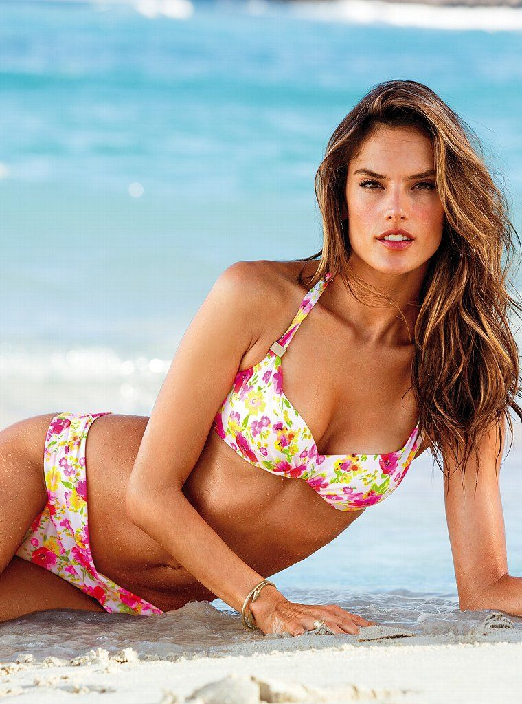 Alessandra Ambrosio for VS Swim March 2012-300