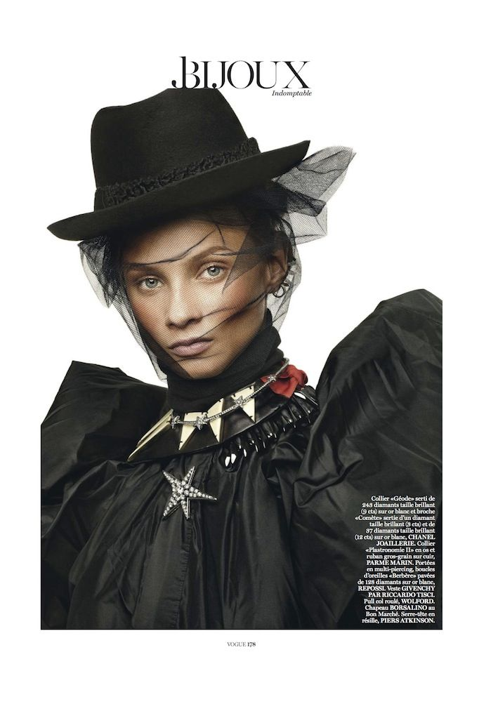 Anna Selezneva Vogue Paris March 2013-001