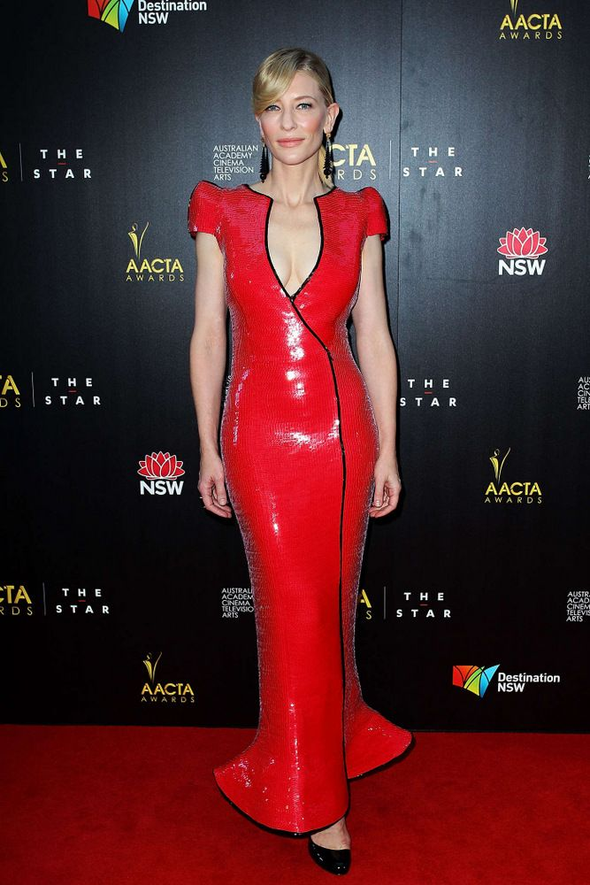 Cate Blanchett AACTA Awards in Sydney 2013-002