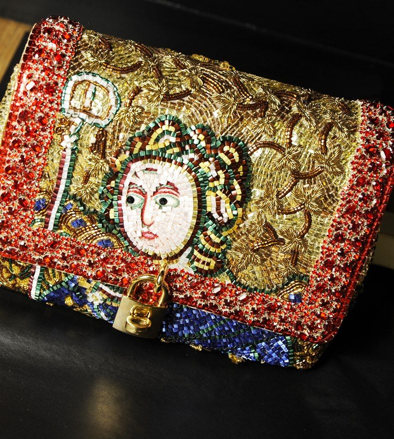 Figure mosaic Dolce Bag