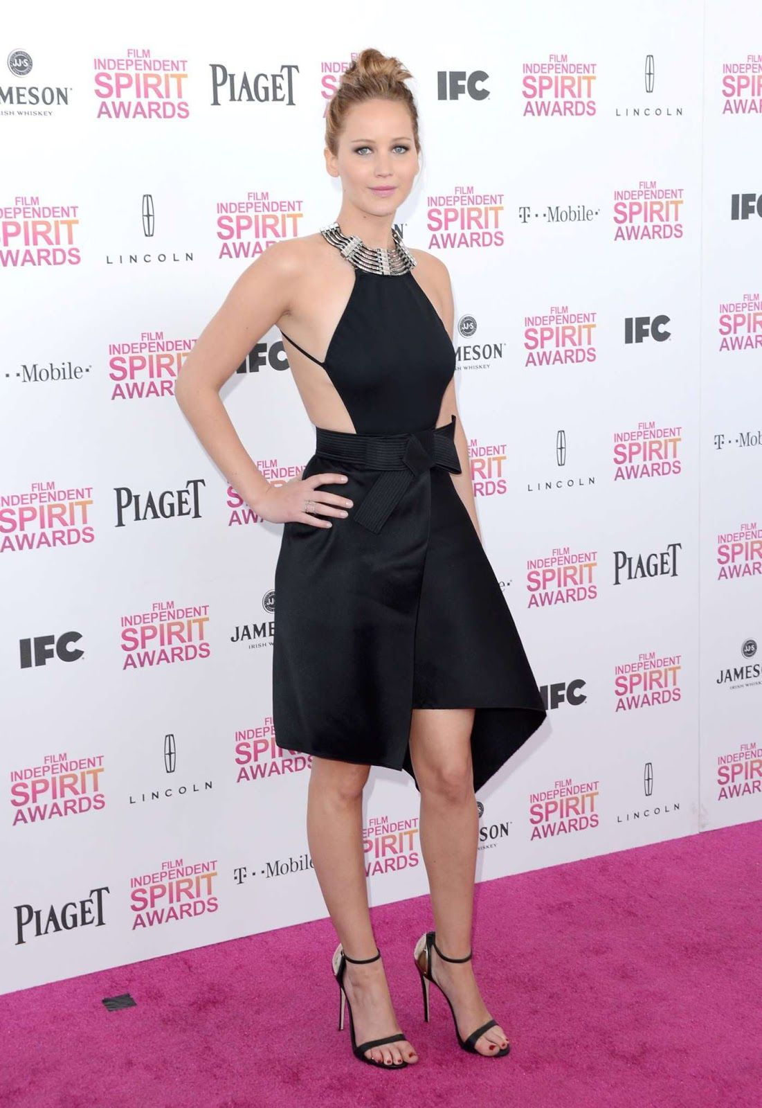 Jennifer Lawrence Film Independent Spirit Awards 2013