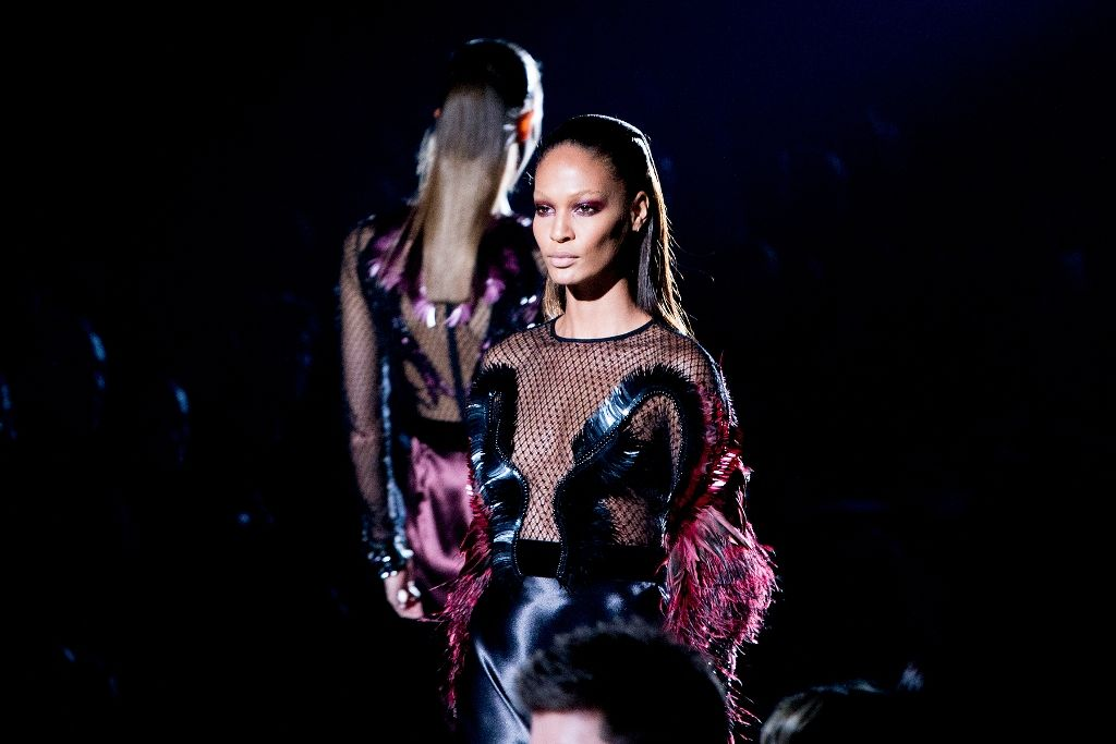 Joan Smalls Gucci AW 2013 LFW 20.2.2013_02