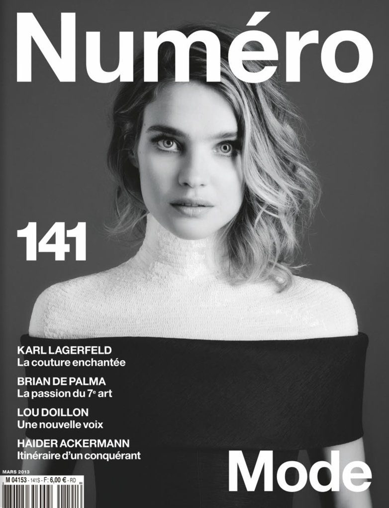 Natalia Vodianova for Numero March 2013 Covers-001