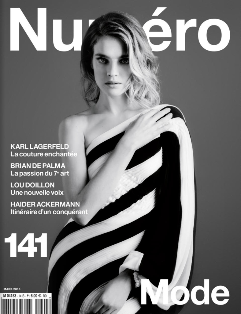 Natalia Vodianova for Numero March 2013 Covers