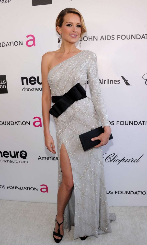 Petra Nemkova Elton John AIDS Foundation Academy Awards Party