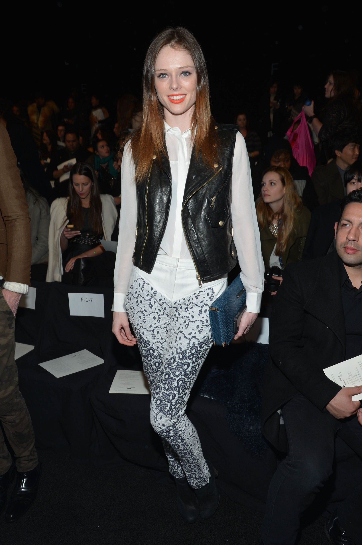 Rebecca Minkoff Fall 2013 fashion show during NYFW ( Feb. 8 )