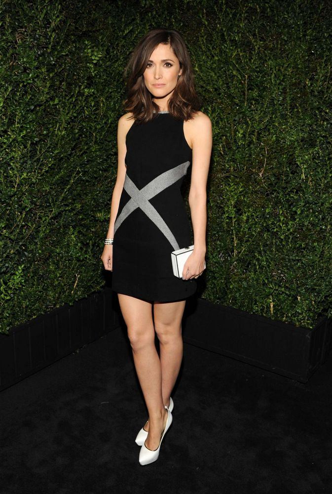 Rose Byrne Chanel Pre-Oscar Dinner Party 2013