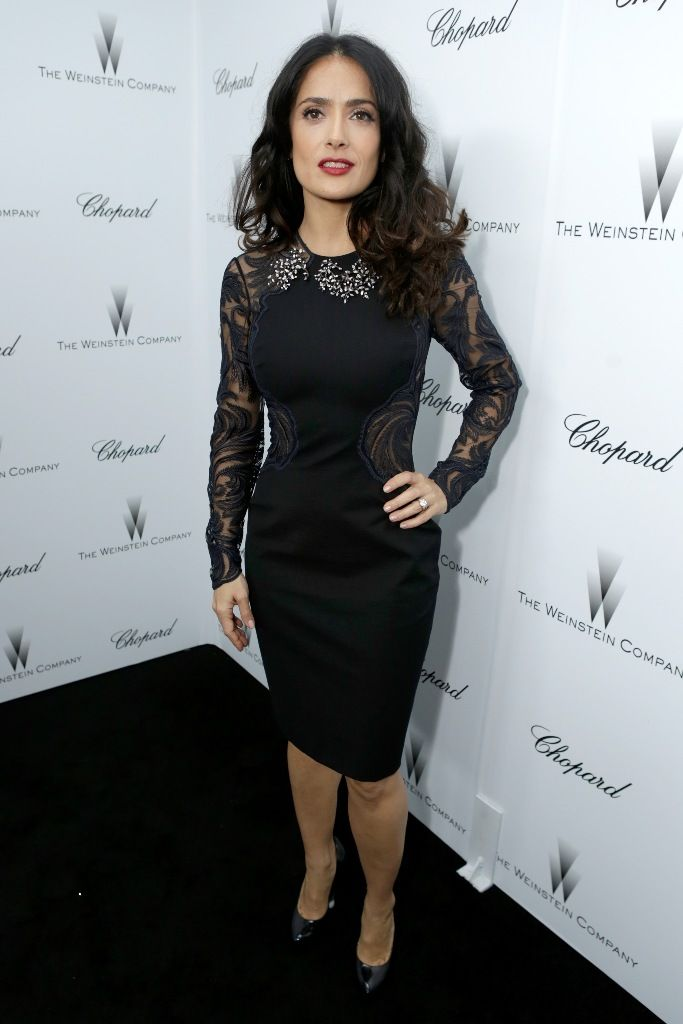 Salma Hayek attends The Weinstein Company Academy Award Party Hosted By Chopard 23.2.2013_02