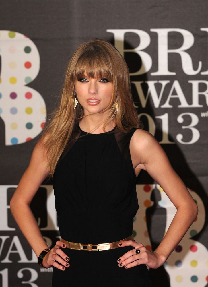 Taylor Swift Brit Awards in London 2013-001