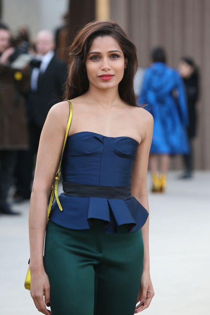 Celebrities at Burberry Prorrsum Fall 2013 fashion show at ...