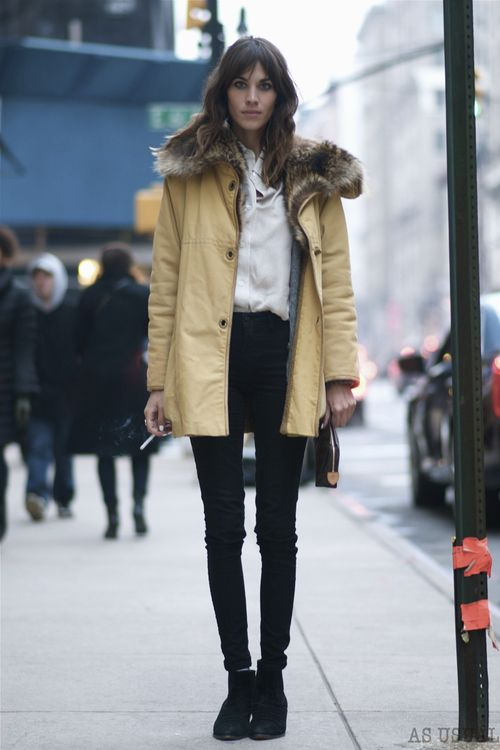 Alexa Chung Street Style Tumblr Images Galleries With A Bite