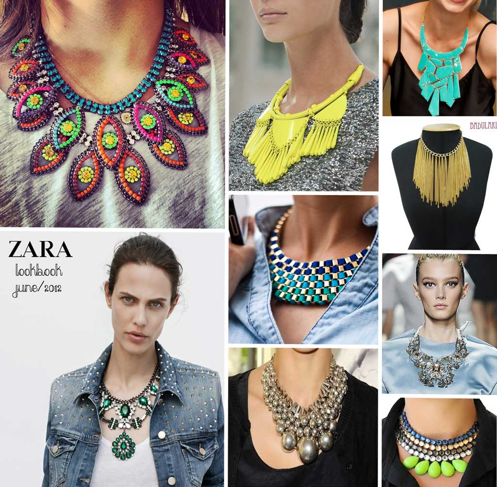 style watch: statement necklaces trend | fab fashion fix