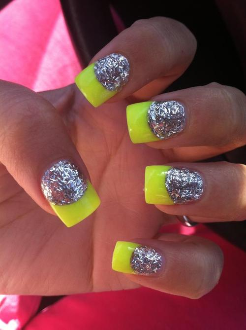 Nails: Neon Nails Trend for Spring 2013 - Fab Fashion Fix