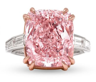 12 Carat Majestic Pink Diamond Cartier