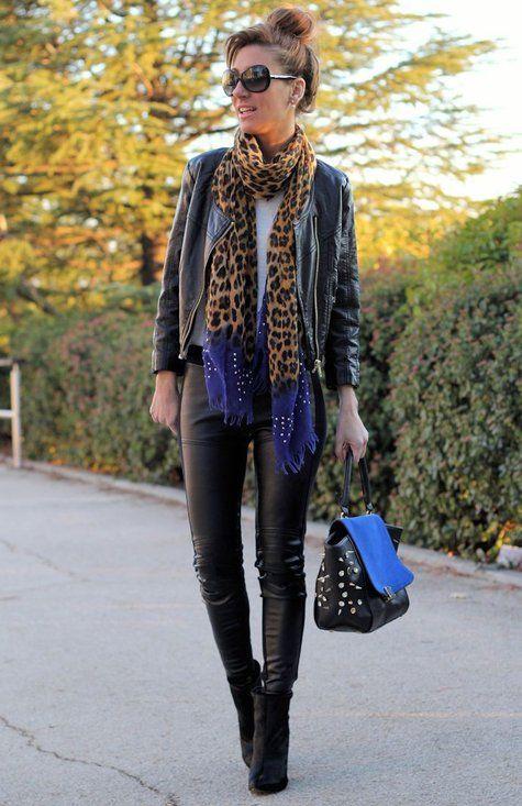 Style Watch How Fashion Bloggers Wear Animal Prints Fab Fashion Fix