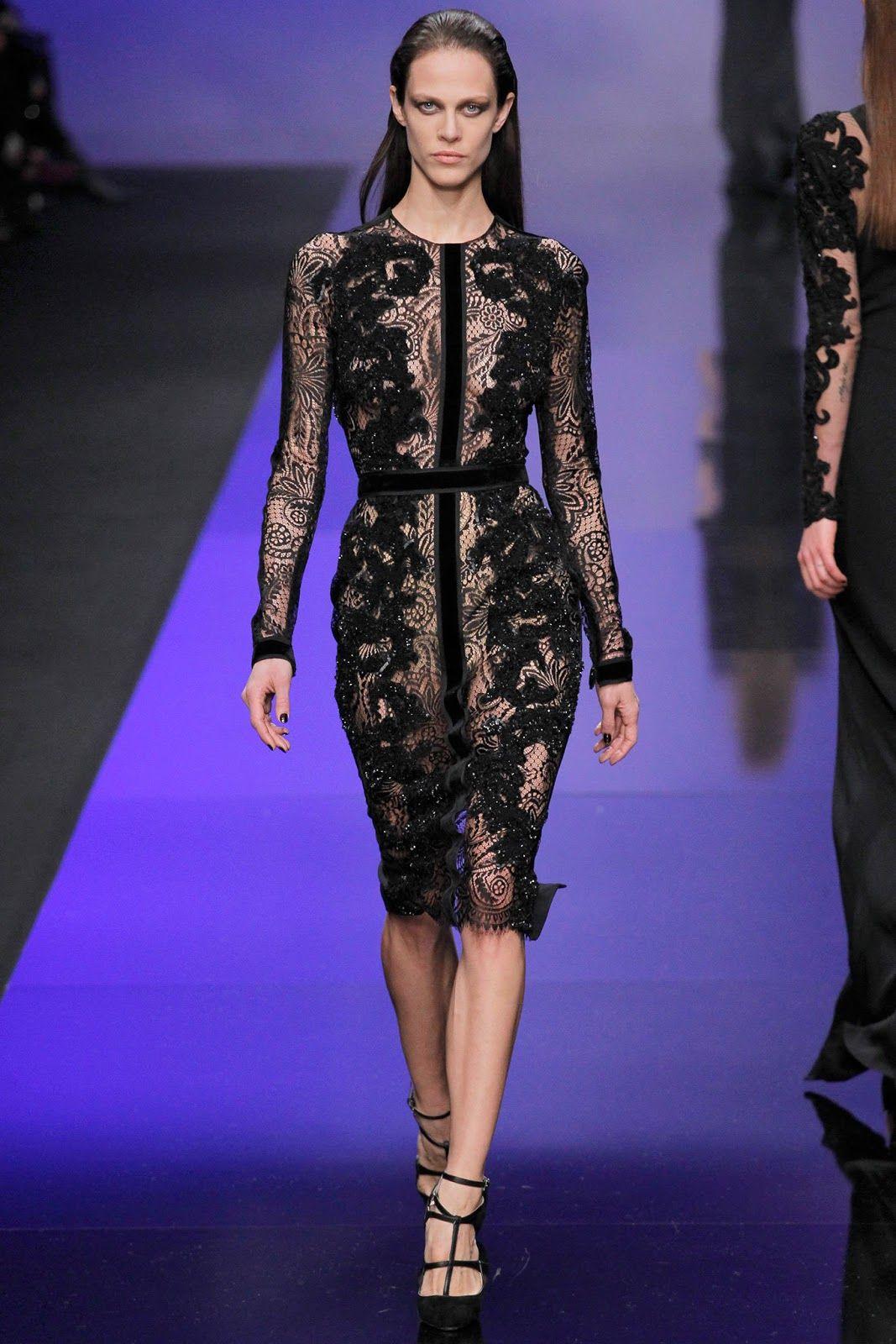 Elie Saab Fall Winter 2013 Collection Paris Fashion Week