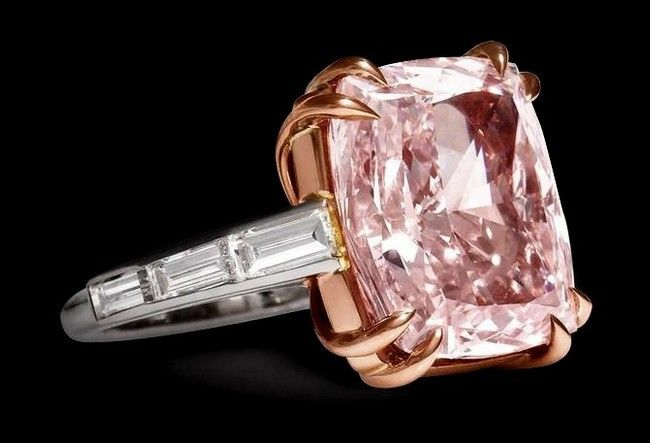 7.8 million Majestic Pink Diamond Cartier 4