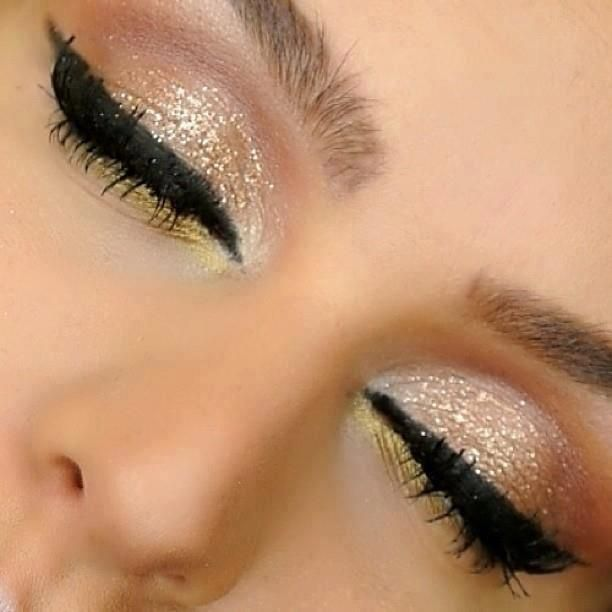 Makeup: Golden Smokey Eye Makeup Tutorial by Lisa Eldridge | Fab ...