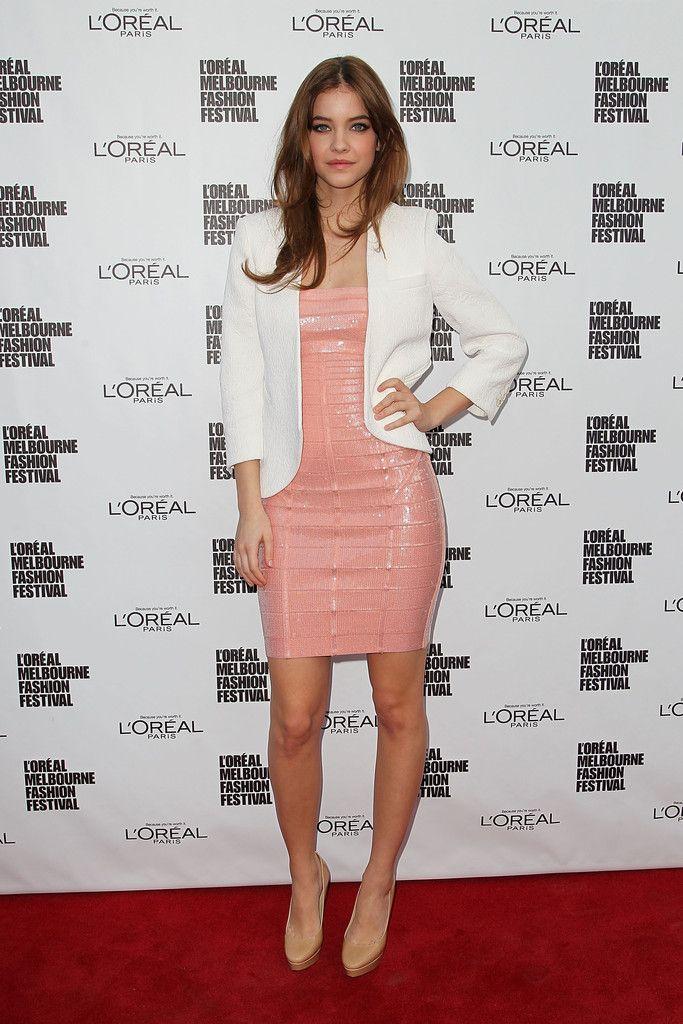 Barbara Palvin L'oreal Melbourne Fashion Festival 2013-200