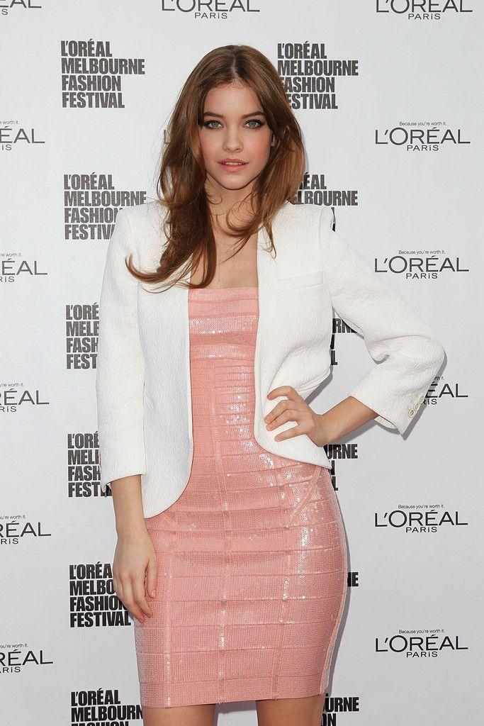 Barbara Palvin L'oreal Melbourne Fashion Festival 2013-201