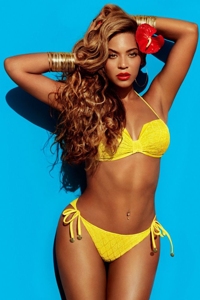 Beyonce by Inez & Vinoodh for H&M Summer 2013 Full-003