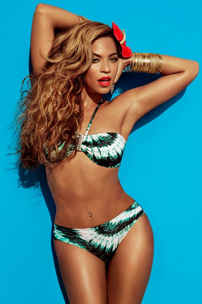 Beyonce by Inez & Vinoodh for H&M Summer 2013 Full-004