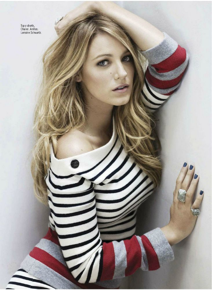 Blake Lively for Glamour Mexico March 2013