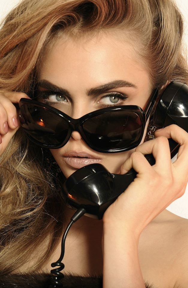 Cara Delevingne for Dsquared2 Eyewear Collection 2013-003