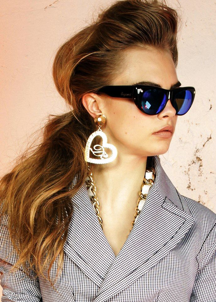 Cara Delevingne for Dsquared2 Eyewear Collection 2013-009