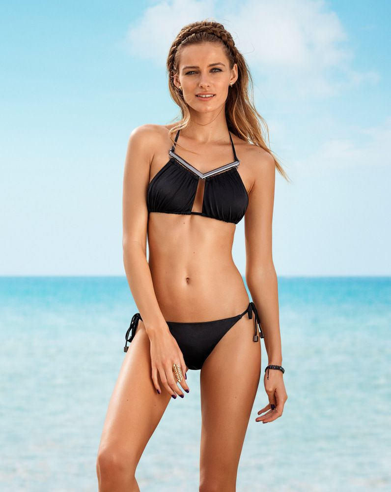Edita Vilkeviciute for HM SS 2013 Swimwear Collection