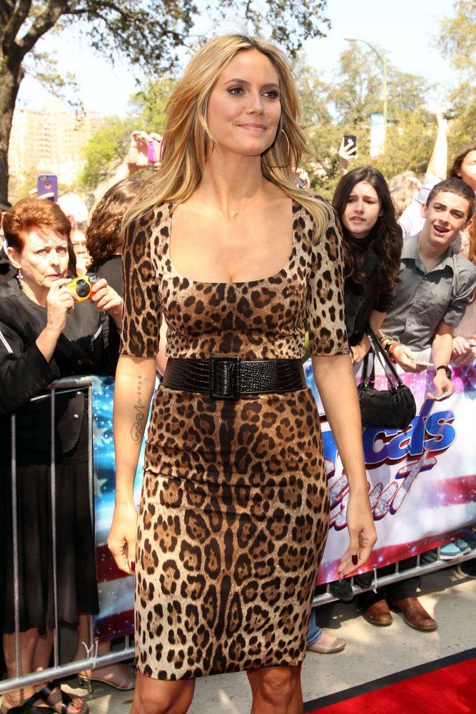 Heidi Klum America's Got Talent in San Antonio 2013-002