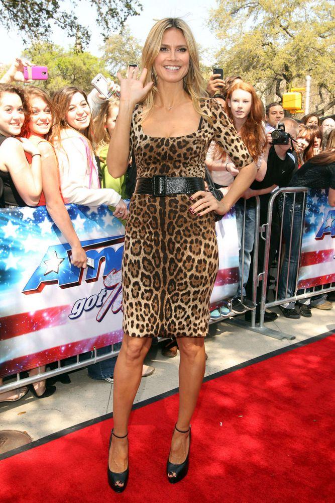 Heidi Klum America's Got Talent in San Antonio 2013