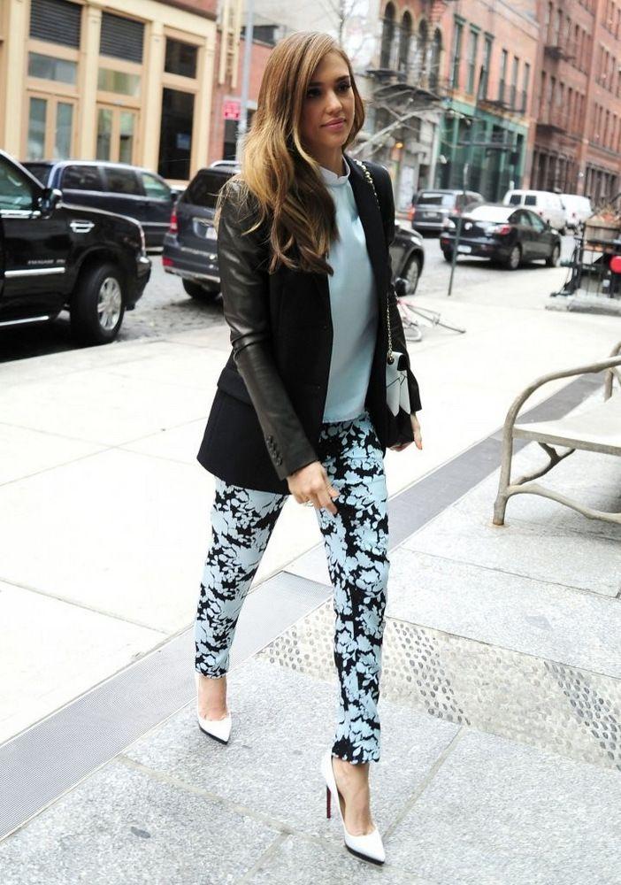 Jessica Alba New York City March 2013