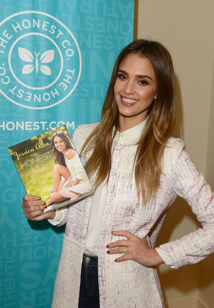 Jessica Alba new book The Honest Life