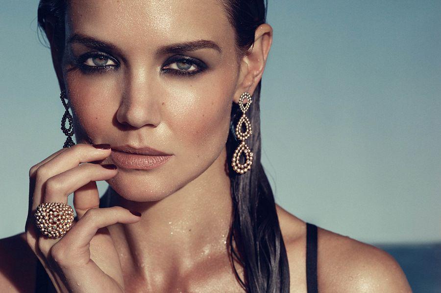 Katie Holmes H Stern Jewelry Photoshoot