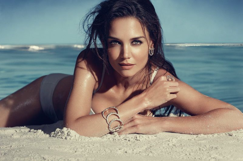 Katie Holmes for H. Stern Iris Collection Campaign