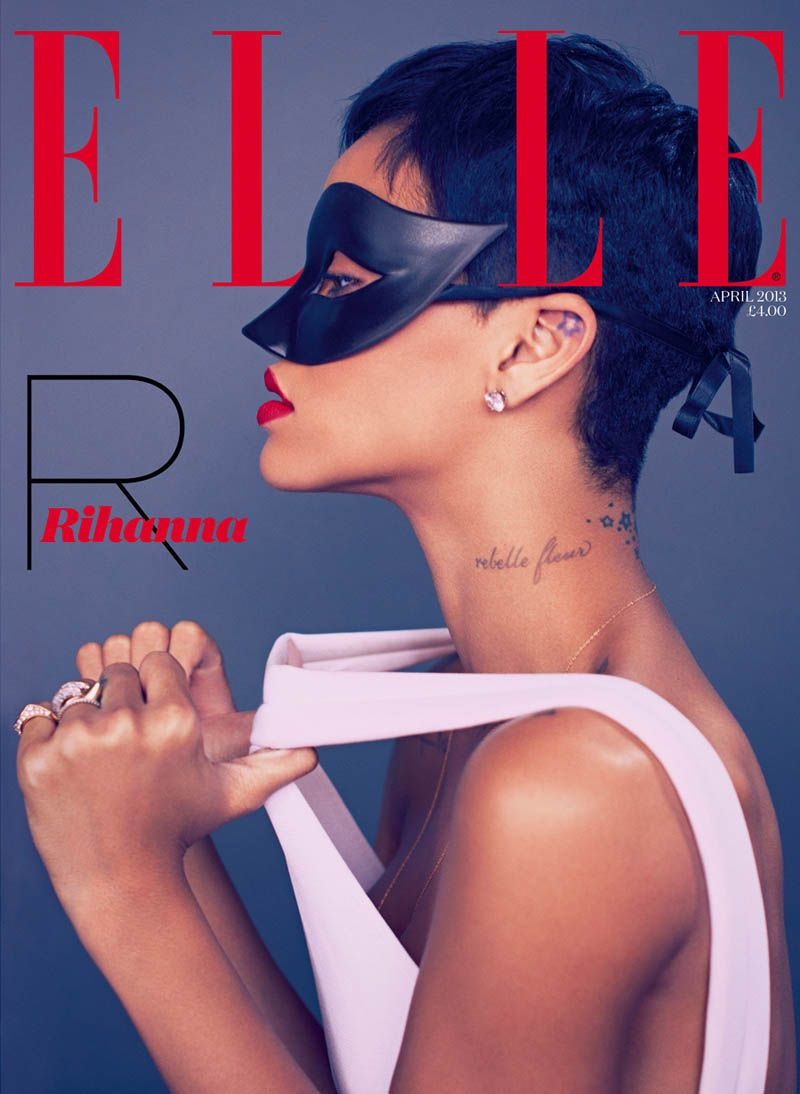 Rihanna by Mariano Vivanco for Elle UK April 2013-007