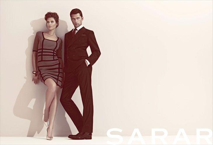 Sean O'pry and Bianca Balti for Sarar spring/summer 2013