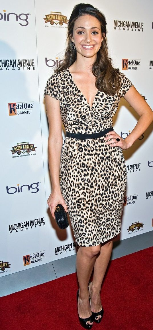 Michigan Avenue Magazine's September Issue Cover Party Hosted By Emmy Rossum