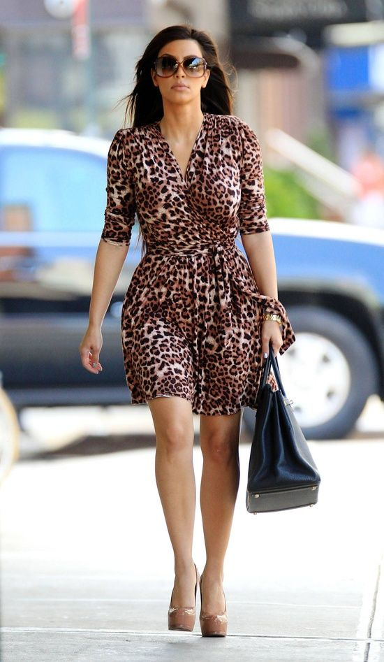 Style Watch Celebrities Wearing Animal Prints Fab