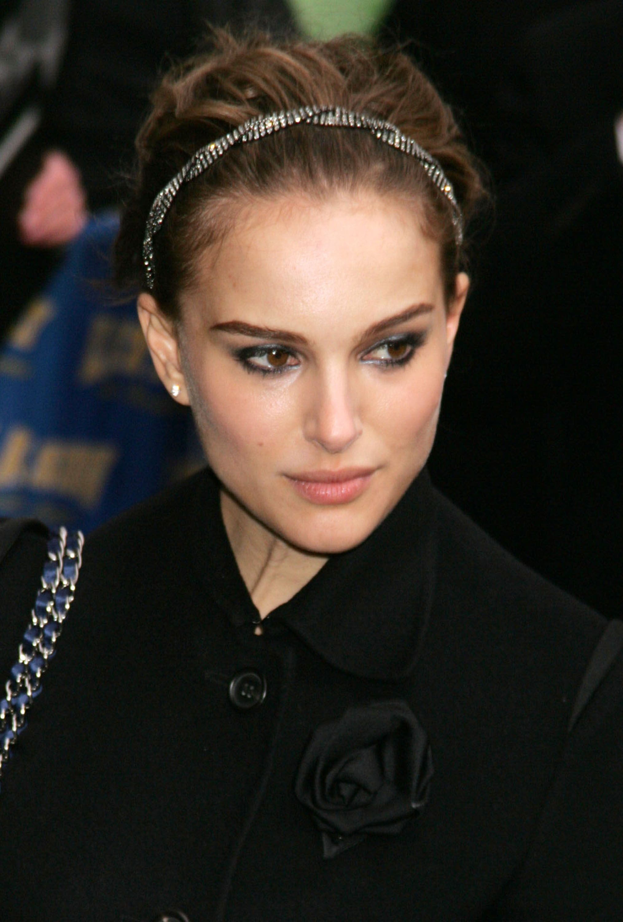 Natalie Portman On Letterman - February 2008