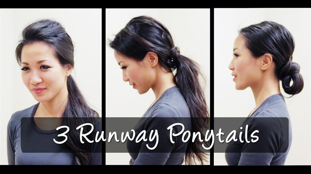 Hair 3 Ponytail Looks Tutorial By Wendys Lookbook Fab Fashion Fix