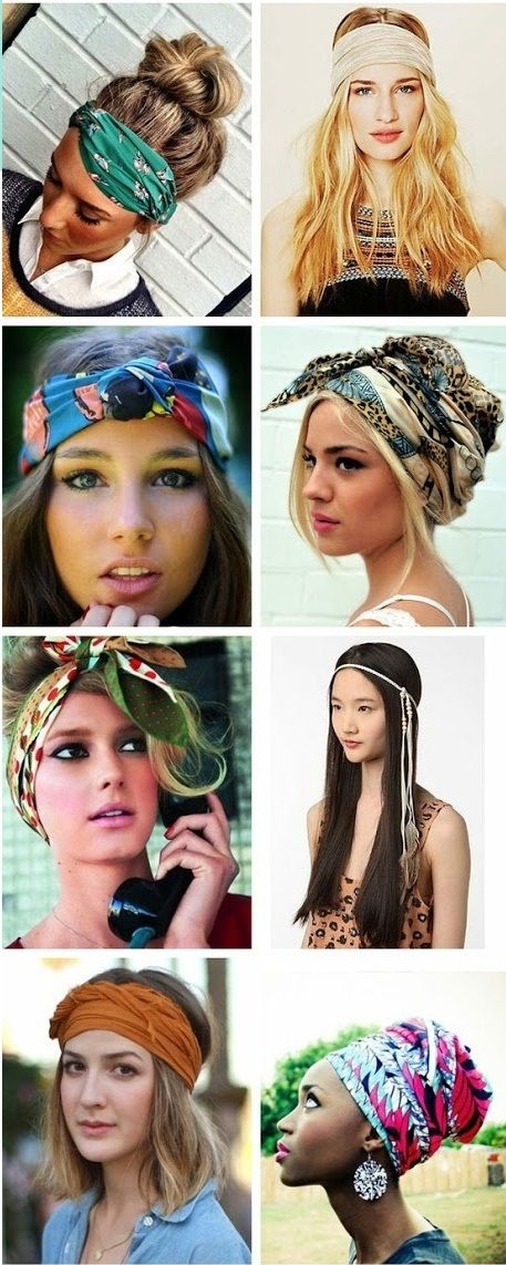 Style Guide How to wear head scarves How To Wear Scarf On Your Head