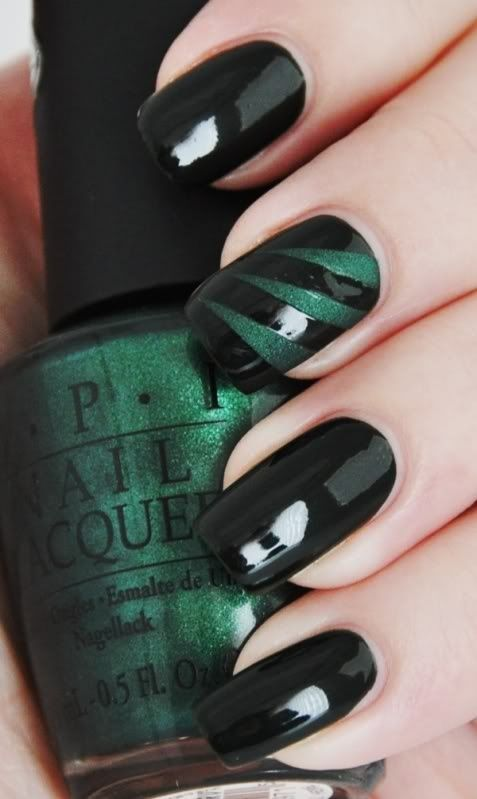 Nails: Chic black nails & manicure ideas for spring 2013 - Fab ...