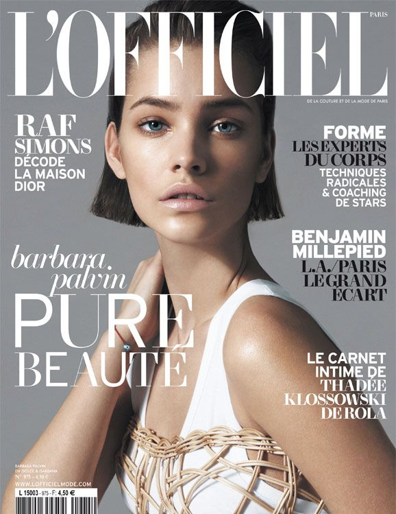 Barbara Palvin for LOfficiel Paris May 2013 Cover