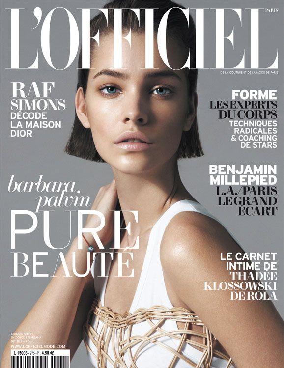 Barbara Palvin for LOfficiel Paris May 2013 Cover