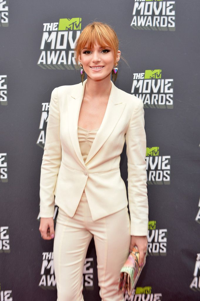 Bella Thorne MTV Movie Awards in LA 2013